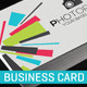 Creative Business Card 02 - GraphicRiver Item for Sale