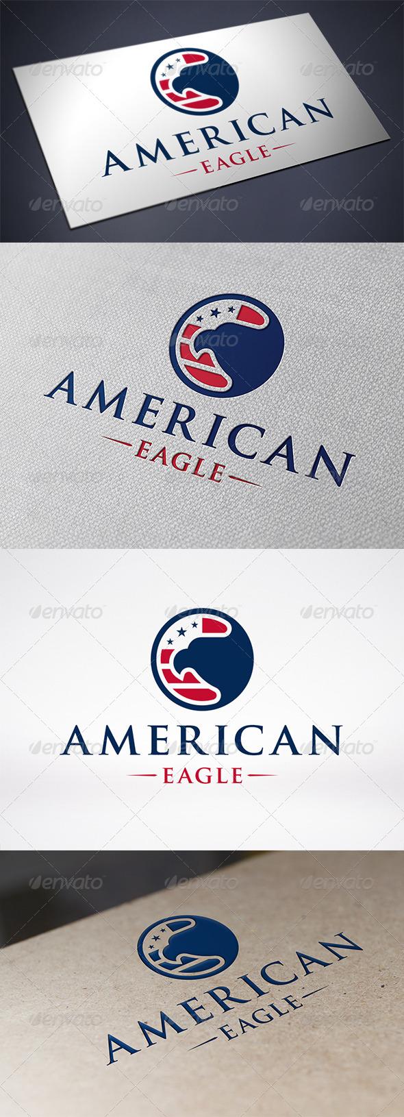 American Eagle Logo Template - Symbols Logo Templates
