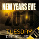 New Years Eve 2014 Flyer | Golden VIP Style - GraphicRiver Item for Sale
