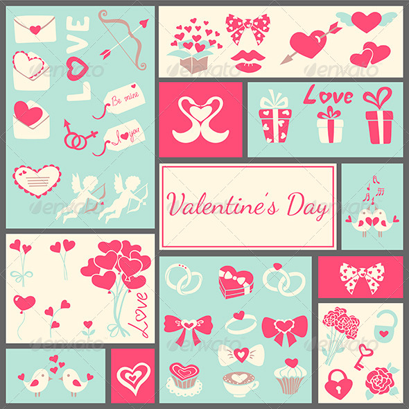 Valentine's Card - Backgrounds Decorative