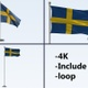 Sweden Pole Pack 4k-Loop - VideoHive Item for Sale