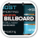 O2 Web Hosting Service Billboard - GraphicRiver Item for Sale