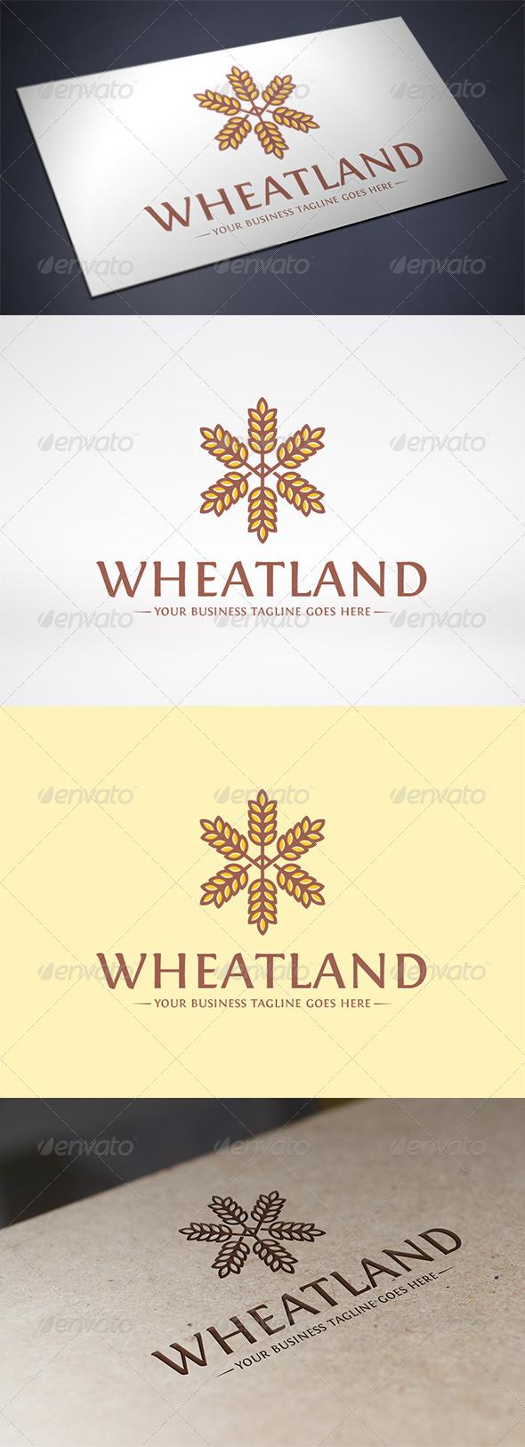 Wheat Logo Template - Nature Logo Templates