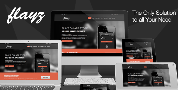 Flayz – Multi Purpose HTML5 Website Template