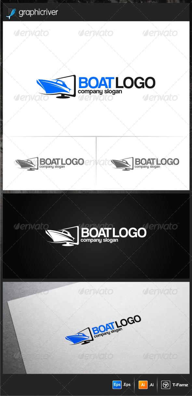 Boat Logo Templates - Objects Logo Templates