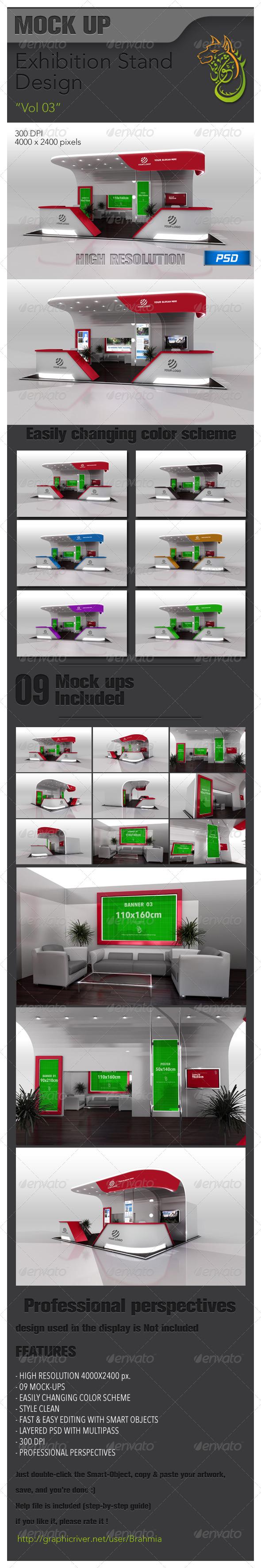 Exhibition Stand Design vol 03 - Miscellaneous Print