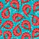 Shrimp Seamless Background - GraphicRiver Item for Sale