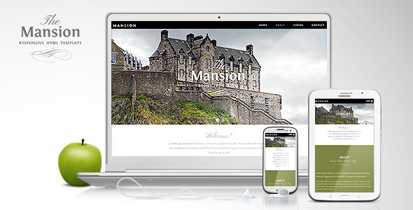 Mansion – Responsive One-Page Site Template