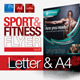 Fitness Flyer Vol.6 - GraphicRiver Item for Sale