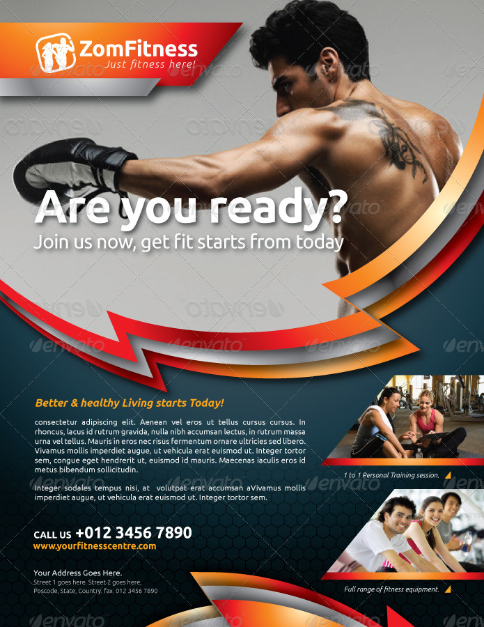 Fitness Flyer Vol.6
