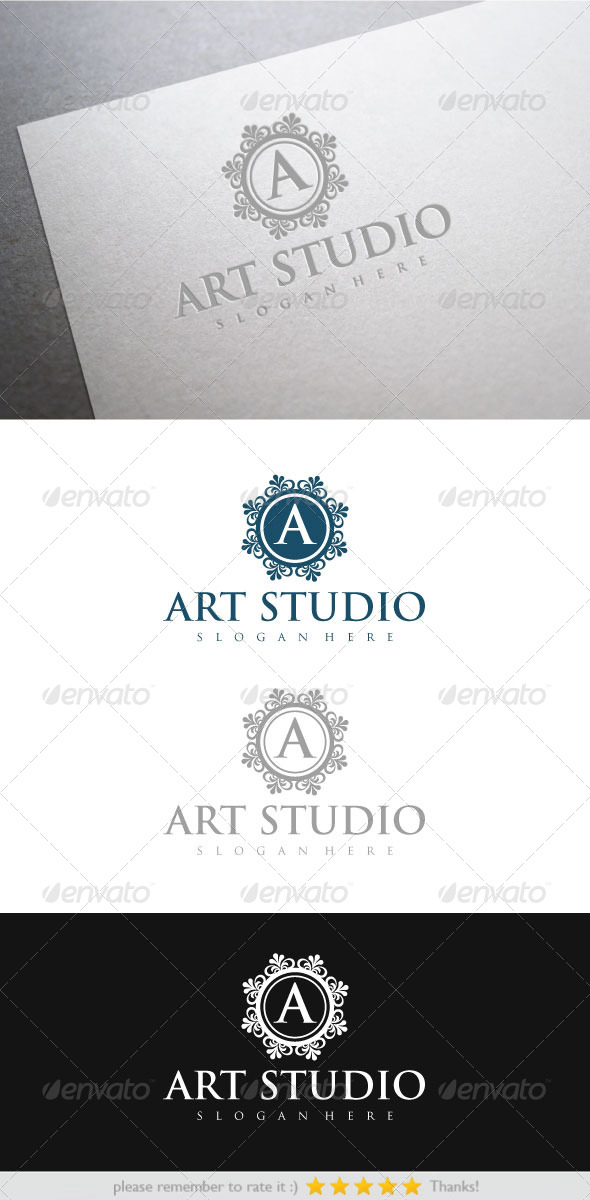 Art Studio - Vector Abstract
