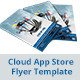 Cloud App Store Flyer Template - GraphicRiver Item for Sale