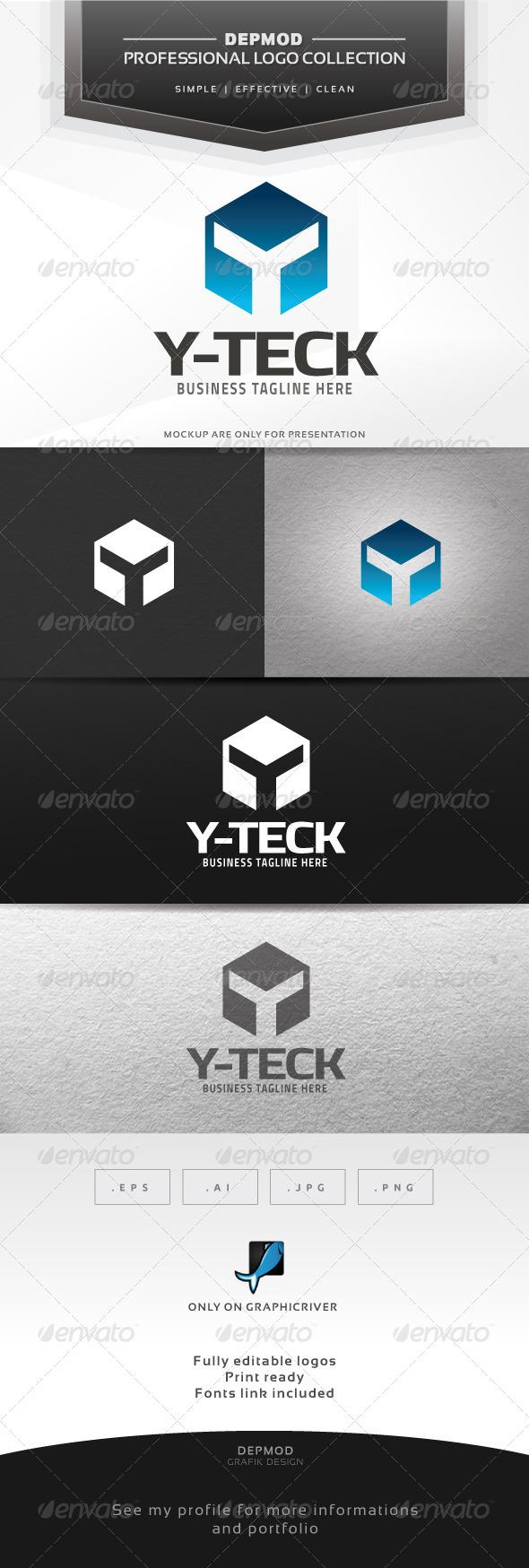 Y-Teck Logo - Letters Logo Templates