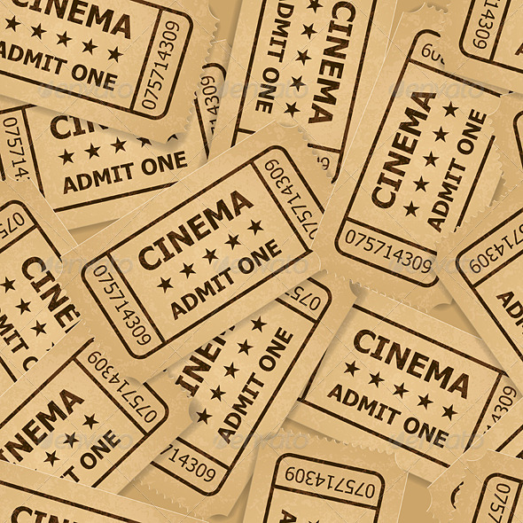 Cinema Tickets. - Miscellaneous Vectors