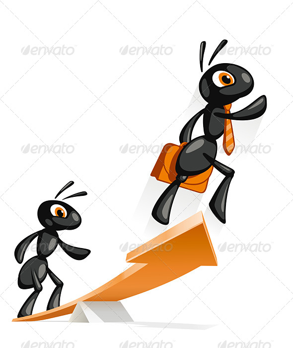 Ant Jump Up - Animals Characters