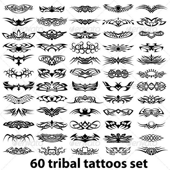 Tattoo Vector Set - Tattoos Vectors
