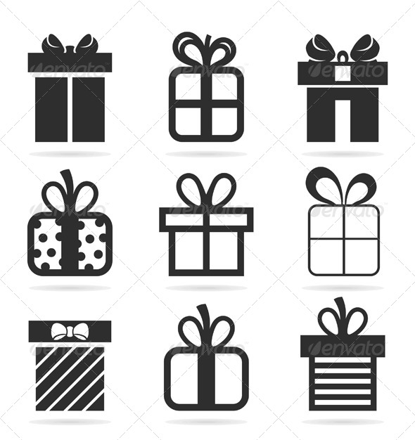 Gift an Icon - Miscellaneous Vectors