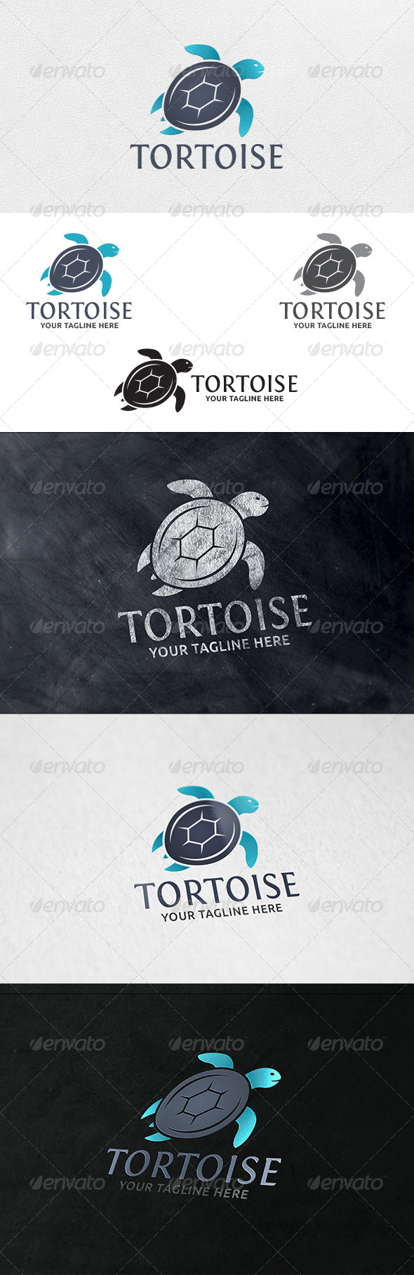 Tortoise - Logo Template - Animals Logo Templates