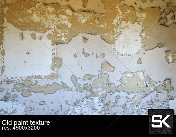 Old Paint On The Wall - Industrial / Grunge Textures