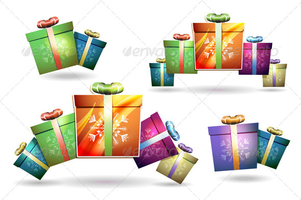 Christmas Gift Box  - Christmas Seasons/Holidays