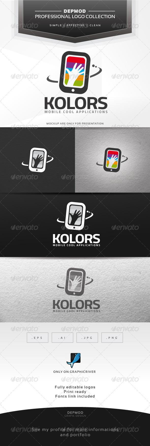 Kolors Logo - Symbols Logo Templates