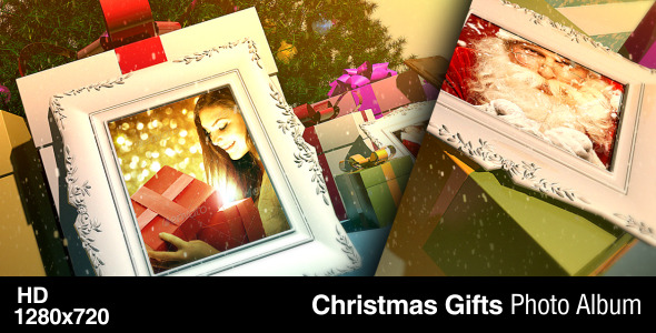 Christmas Gifts Photo Album