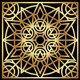 Golden Geometric Ornament - GraphicRiver Item for Sale