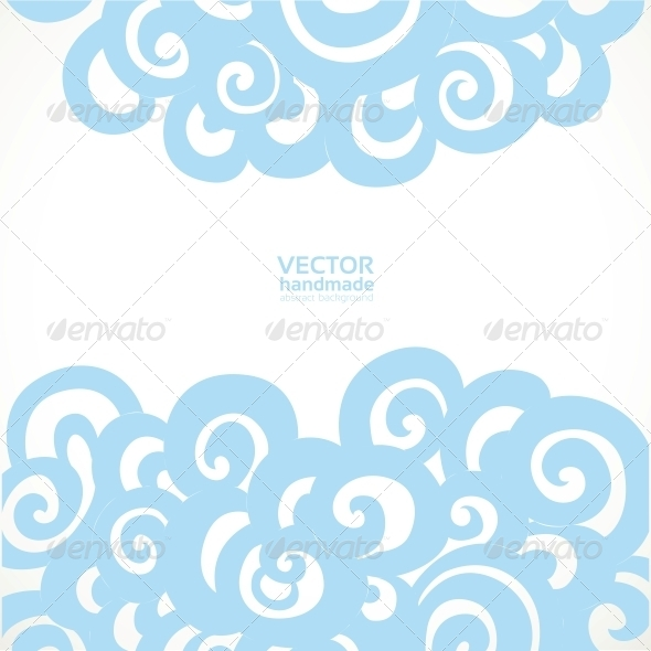 Background with Decorative Flourishes - Backgrounds Decorative