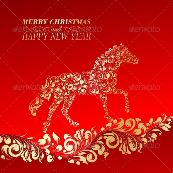 Christmas Greeting Card - New Year Seasons/Holidays