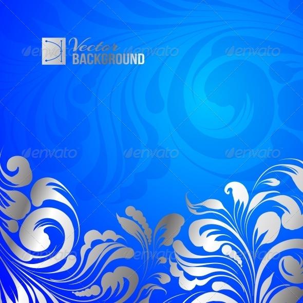 Holiday Greeting Card - Decorative Symbols Decorative
