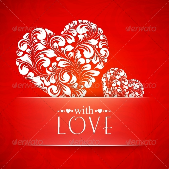Happy Valentines Greeting Card. - Valentines Seasons/Holidays