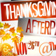 Thanksgiving Afterparty Party Flyer Template - GraphicRiver Item for Sale