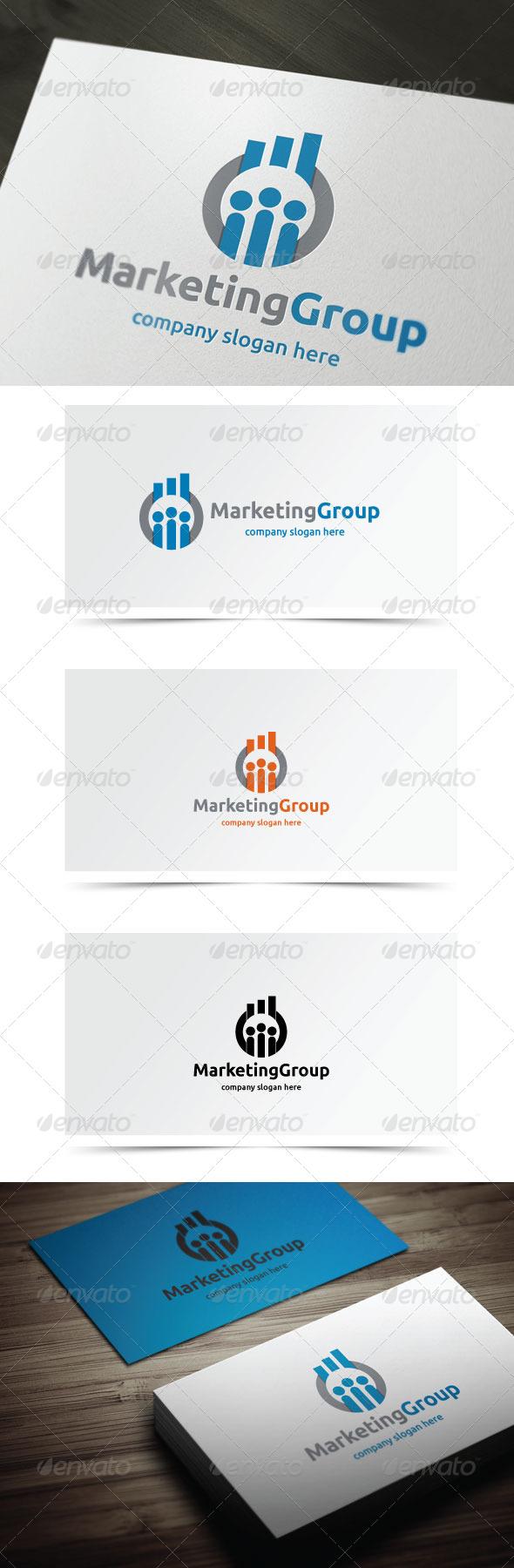 Marketing Group - Symbols Logo Templates