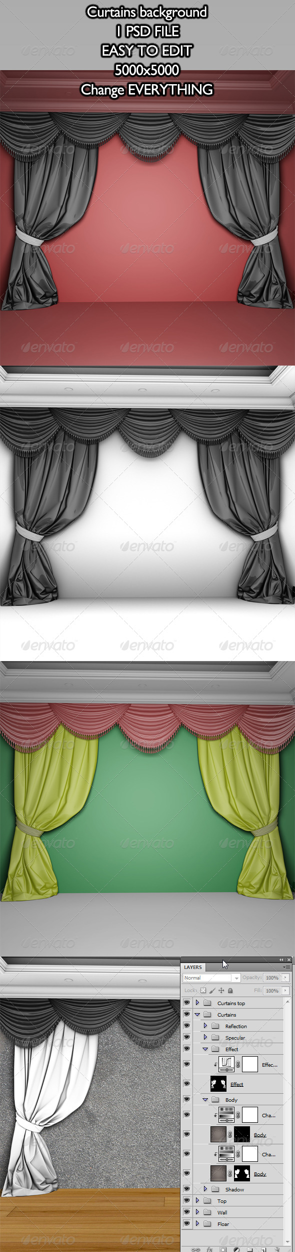 Curtains Backgrounds - Backgrounds Graphics