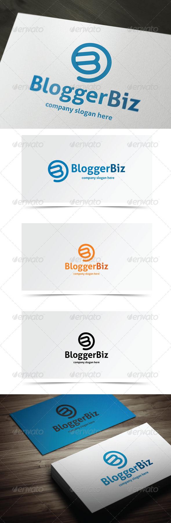 Blogger Biz - Letters Logo Templates