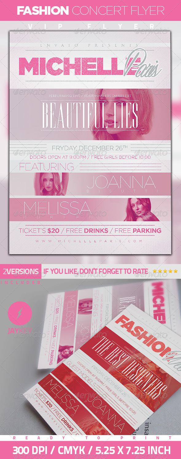 Fashion Concert Flyer - Events Flyers