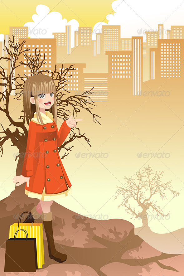 Shopping Girl - Commercial / Shopping Conceptual