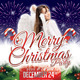 Merry Christmas Party Flyer Template 13