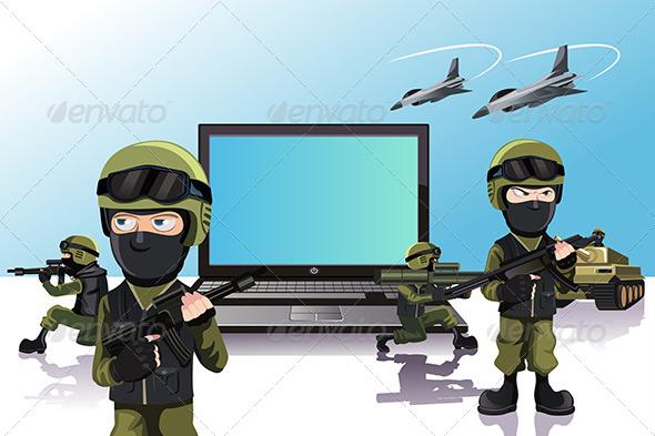 Computer Protection - Conceptual Vectors