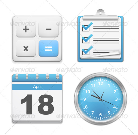 Office Icons - Business Conceptual