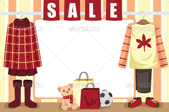 Autumn Shopping Background - Commercial / Shopping Conceptual