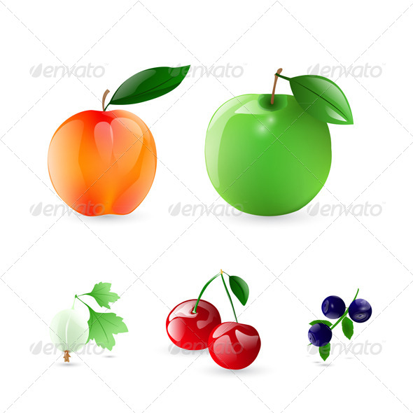 Fruits and Berries - Food Objects