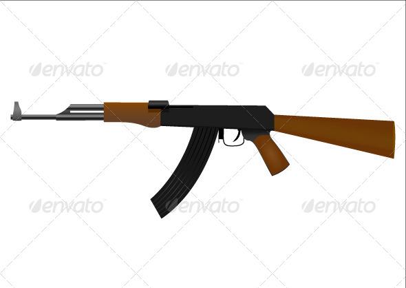 Automatic Rifle - Technology Conceptual