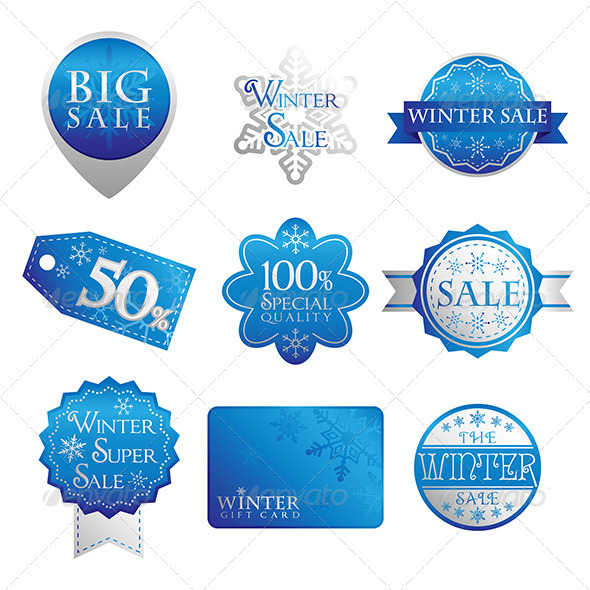 Sales Tags - Commercial / Shopping Conceptual