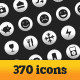 Del Mante Icon Set - Vol. 1 (370 icons) - GraphicRiver Item for Sale