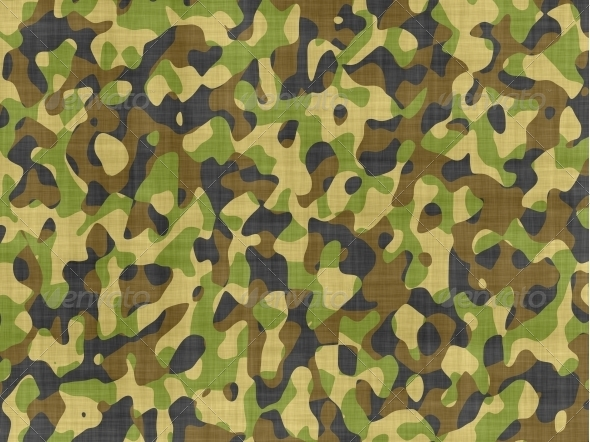 Camouflage fabric - Patterns Backgrounds