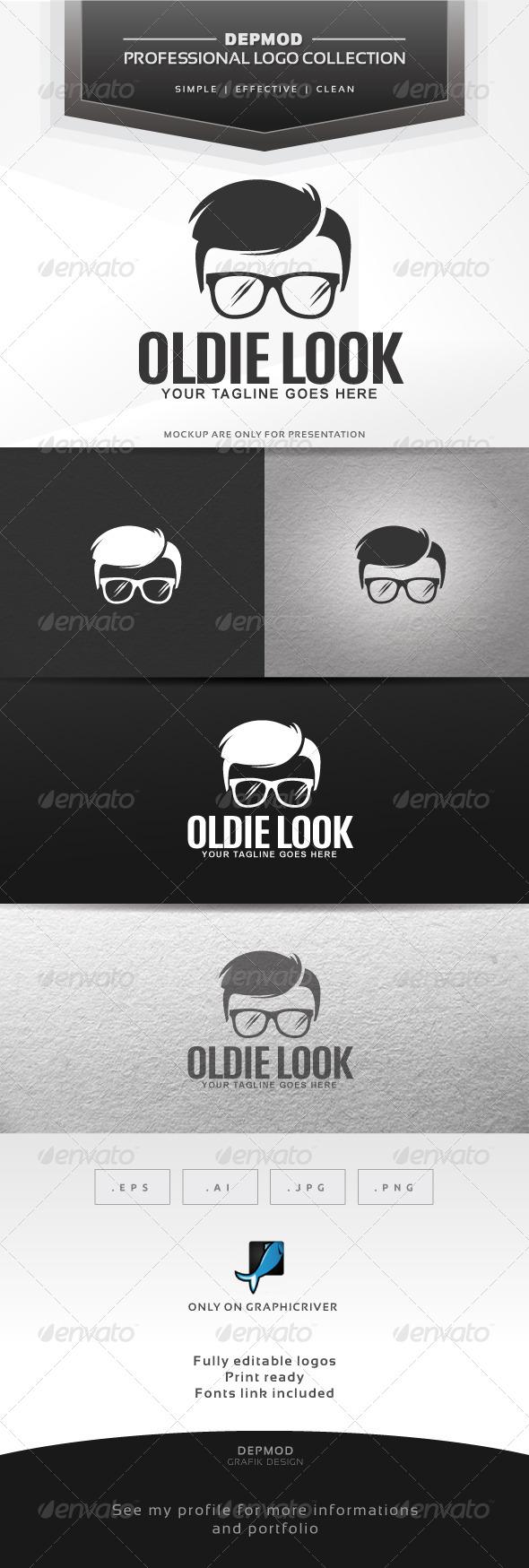 Oldie Look Logo - Humans Logo Templates