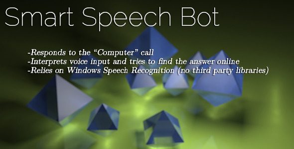 Smart Speech Bot - CodeCanyon Item for Sale