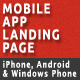 Mobile App Landing Page - ThemeForest Item for Sale