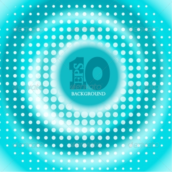 Blue Circle Background - Backgrounds Decorative